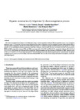 Organics removal in oily bilgewater by electrocoagulation process