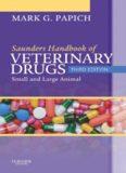 Saunders Handbook of Veterinary Drugs: Small and Large Animal, 3rd Edition (Handbook of Veterinary
