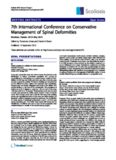 7th International Conference on Conservative Management of Spinal Deformities